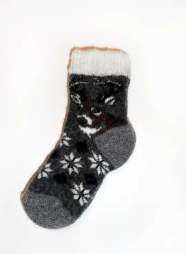 Носки Детские Сувенирные с оленем 2