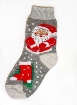 Носки Взрослые Сувенирные с Сантаклаусом 2