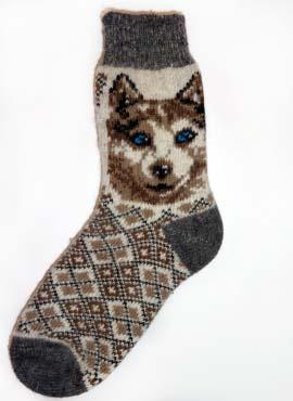 Носки Взрослые Сувенирные с волком