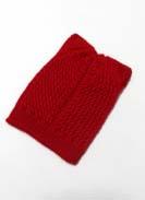 Шапка Лилия Красный 2