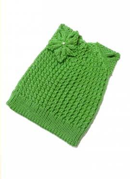Шапка Лилия Зеленый 1 70-30