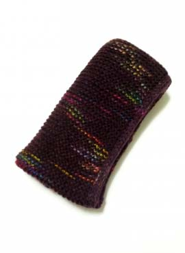 Снуд Темно-фиолетовый Меланж 1 60-40