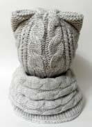 Комплект Кошка Светло-серый 2