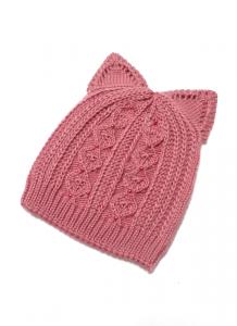 Шапка Бабочка Светло-розовый 1 70-30