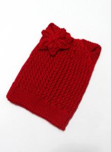 Шапка Лилия Красный 1 70-30